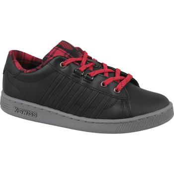 Παπούτσια Παιδί Χαμηλά Sneakers K-Swiss Hoke Plaid Noir