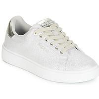 Παπούτσια Κορίτσι Χαμηλά Sneakers Kappa SAN REMO KID Άσπρο / Silver