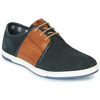 Παπούτσια Άνδρας Χαμηλά Sneakers Base London JIVE Μπλέ / Camel