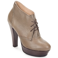 Παπούτσια Γυναίκα Χαμηλές Μπότες Keyté ETRIOU Taupe