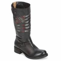 Παπούτσια Γυναίκα Μπότες Strategia ENRO Black / Imprimé / Flag