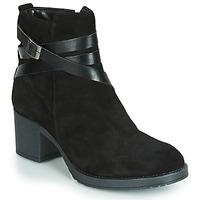 Παπούτσια Γυναίκα Μπότες André MIDWEST Black