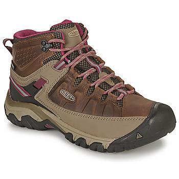 Παπούτσια Γυναίκα Πεζοπορίας Keen TARGHEE III MID WP Brown / Ροζ