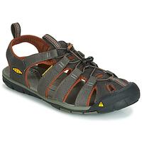 Παπούτσια Άνδρας Σπορ σανδάλια Keen MEN CLEARWATER CNX Grey / Brown