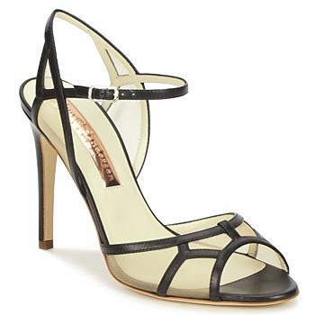 Παπούτσια Γυναίκα Σανδάλια / Πέδιλα Rupert Sanderson TREEN Black / Beige
