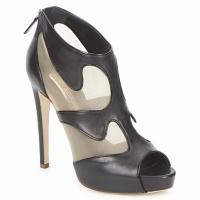 Παπούτσια Γυναίκα Χαμηλές Μπότες Rupert Sanderson ORBIT Black / Beige