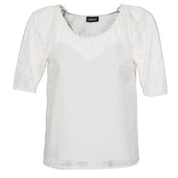 Υφασμάτινα Γυναίκα Μπλούζες Kookaï BASALOUI Άσπρο