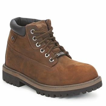 Παπούτσια Άνδρας Μπότες Skechers SERGEANTS VERDICT Brown