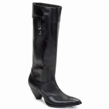 Παπούτσια Γυναίκα Μπότες για την πόλη Stephane Gontard PUCCINI Black