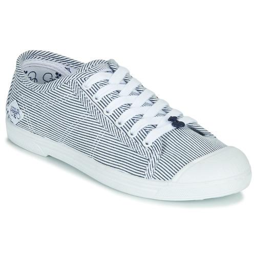 Παπούτσια Γυναίκα Χαμηλά Sneakers Le Temps des Cerises BASIC 02 Μπλέ / Άσπρο