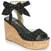 Παπούτσια Γυναίκα Σανδάλια / Πέδιλα Lola Ramona NINA Black