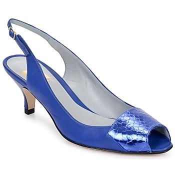 Παπούτσια Γυναίκα Σανδάλια / Πέδιλα Fred Marzo LILI SLING ΜΠΛΕ-ΕΛΕΚΤΡΙΚ