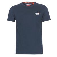 Υφασμάτινα Άνδρας T-shirt με κοντά μανίκια Superdry ORANGE LABEL VINTAGE EMB TEE Marine