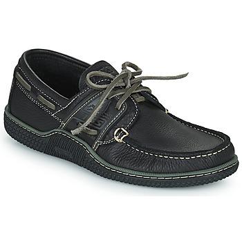 Παπούτσια Άνδρας Boat shoes TBS GLOBEK Black