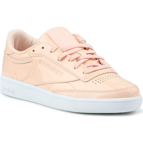 Παπούτσια Γυναίκα Χαμηλά Sneakers Reebok Sport Club C 85 Patent BS9778 orange