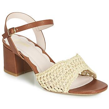Παπούτσια Γυναίκα Σανδάλια / Πέδιλα Miss L'Fire MIRO Brown