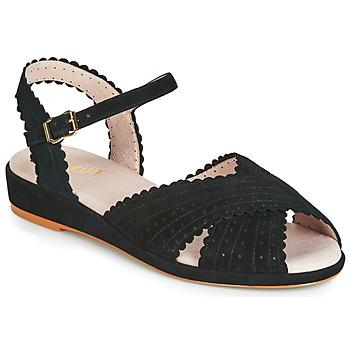 Παπούτσια Γυναίκα Σανδάλια / Πέδιλα Miss L'Fire BRIGITTE Black