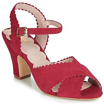 Παπούτσια Γυναίκα Σανδάλια / Πέδιλα Miss L'Fire BEATRIZ Red