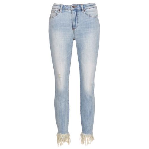 Υφασμάτινα Γυναίκα Jeans 3/4 & 7/8 Armani Exchange HELBAIRI Μπλέ /  clair