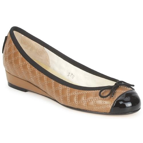 Παπούτσια Γυναίκα Μπαλαρίνες French Sole HENRIETTA Taupe