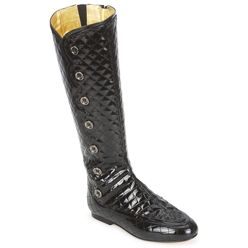 Παπούτσια Γυναίκα Μπότες για την πόλη French Sole PUMPKIN Black