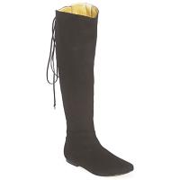 Παπούτσια Γυναίκα Μπότες για την πόλη French Sole PRINCE Black
