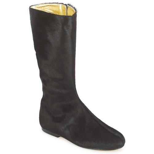 Παπούτσια Γυναίκα Μπότες για την πόλη French Sole PATCH Black