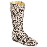 Παπούτσια Γυναίκα Μπότες για την πόλη French Sole PATCH Leopard
