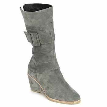 Παπούτσια Γυναίκα Μποτίνια Regard RUBANO Grey