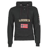 Υφασμάτινα Άνδρας Φούτερ Geographical Norway GYMCLASS Black