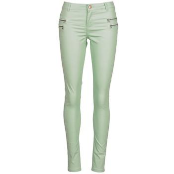 Υφασμάτινα Γυναίκα Παντελόνια Πεντάτσεπα Noisy May FAME Green