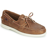 Παπούτσια Άνδρας Boat shoes Sebago DOCKSIDES PORTLAND CRAZY H Brown