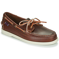 Παπούτσια Άνδρας Boat shoes Sebago DOCKSIDES PORTLAND WAXED Brown
