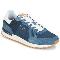Παπούτσια Άνδρας Χαμηλά Sneakers Pepe jeans TINKER PRO Μπλέ