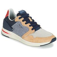 Παπούτσια Άνδρας Χαμηλά Sneakers Pepe jeans JAYKER DUAL D LIMIT Μπλέ / Beige