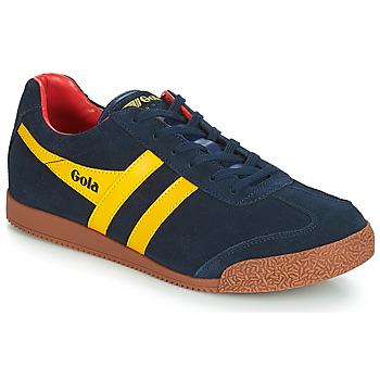 Παπούτσια Άνδρας Χαμηλά Sneakers Gola HARRIER Μπλέ / Yellow