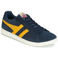 Παπούτσια Άνδρας Χαμηλά Sneakers Gola EQUIPE SUEDE Μπλέ / Yellow
