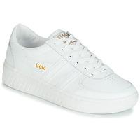 Παπούτσια Γυναίκα Χαμηλά Sneakers Gola GRANDSLAM LEATHER Άσπρο