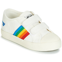 Παπούτσια Παιδί Χαμηλά Sneakers Gola COASTER RAINBOW VELCRO Άσπρο
