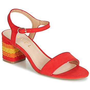 Παπούτσια Γυναίκα Σανδάλια / Πέδιλα Ravel CLEMONT Orange