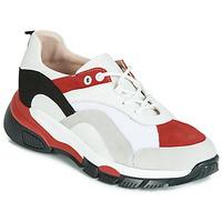 Παπούτσια Γυναίκα Χαμηλά Sneakers Tosca Blu KELLY Άσπρο / Red