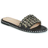 Παπούτσια Γυναίκα Τσόκαρα Cassis Côte d'Azur ALVINA Black