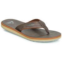 Παπούτσια Άνδρας Σαγιονάρες Quiksilver CARVER NUBUCK M SNDL CTK0 Brown