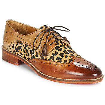 Παπούτσια Γυναίκα Derby Melvin & Hamilton BETTY-4 Brown / Leopard