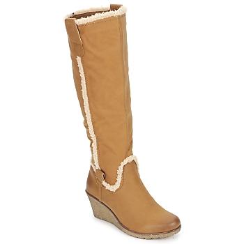 Παπούτσια Γυναίκα Μπότες για την πόλη StylistClick SANAA CAMEL