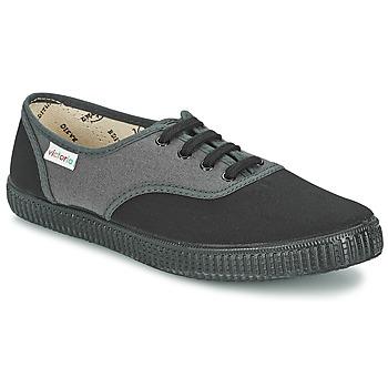Παπούτσια Χαμηλά Sneakers Victoria INGLESA BICOLOR Anthracite