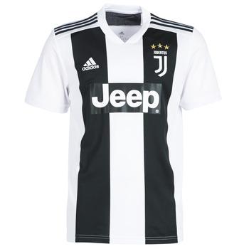 Υφασμάτινα Άνδρας T-shirt με κοντά μανίκια adidas Originals JUVE JERSEY Black