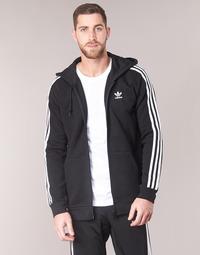 Υφασμάτινα Άνδρας Φούτερ adidas Originals 3 STRIPES FZ Black