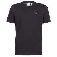 Υφασμάτινα Άνδρας T-shirt με κοντά μανίκια adidas Originals ESSENTIAL T Black