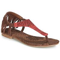 Παπούτσια Γυναίκα Σανδάλια / Πέδιλα Desigual SHOES_LUPITA_LOTTIE Cognac / Red